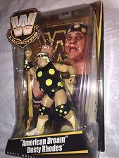 "WWE Legends American Dream Dusty Rhodes Rare Action Figure 6"""