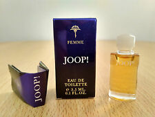 Joop Femme EDT for Women 3.5 ml MINI MINIATURE PERFUME FRAGRANCE New and Boxed