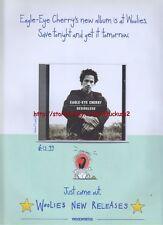 Eagle Eye Cherry Desireless Album 1998 Magazine Advert #1183