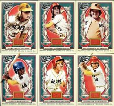 BAD NEWS BEARS 6 Card Set ~ 2013 Panini Golden Age ~ Tatum ONeal Jackie Haley