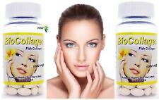2 Bio Collagen 1000 mg 120 Softgel Vitamins Healthy Skin Hair Nails Pills