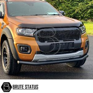 Ford Ranger 2019+ T8 City Bar Matt Black (Nudge Spoiler Bumper Guard Bull bar)