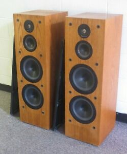 Pair Infinity Crescendo CS 3007 Speakers Serviced playing great all original