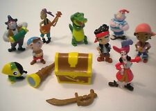 NEW Jake and the Neverland Pirates Figures Play Set Book Toy Figurines Playset