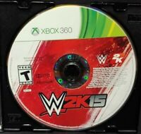 WWE 2K15 Wrestling John Cena - Microsoft Xbox 360  Game - Tested Works Rare