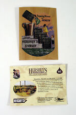 1995 Dart Flipcards Hershey's The Collector Series Wood Chase Card (W2) Nm/Mt
