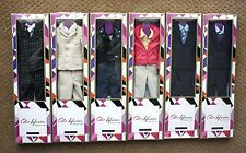 NRFB Cinematic Con Fashion Royalty Homme Male Color Infusion Complete Set Outfit