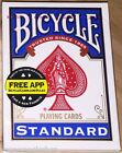 Blue 808 Rider Standard Deck Bicycle Playing Cards Poker Size USPCC New & Sealed