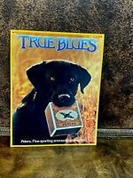 PETERS True Blue GUNS & AMMO Metal Garage Sign Retro Mancave Hunting Shop Wall