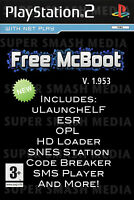 Free MCBoot 1.953 PS2 8MB Memory Card - Playstation 2 - (OPL MC Boot SNES MORE)