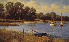 """Nantucket Morning"" Don Demers Fine Art Giclee Canvas"