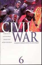CIVIL WAR VOL.1 #6 OF 7 MARVEL COMICS FIRST PRINT