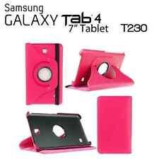 "Funda para tablet Samsung Galaxy Tab 4 7.0"" T230 T235 giratoria Rosa fucsia"