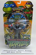 2002 Multi Arm Shredder Action figure Teenage Mutant Ninja Turtles TMNT DVD