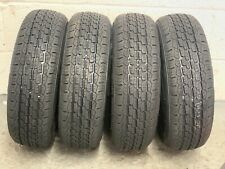 4 x 155/70R 12C Security TR603 104/102N FRT 155 70 12 Trailer tyre - FOUR TYRES