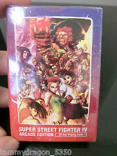 SUPER STREET FIGHTER IV ARCADE EDITION All Star Playing Card New Unopened Deck