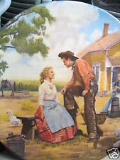 Knowles Oklahoma 1986 Oh What A Beautiful Morning Ltd Ed Plate Mib
