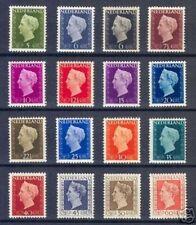 Nederland  474-489 Koningin Wilhelmina 1947-1948 luxe postfris