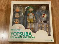 REVOLTECH DX Kaiyodo Yotsuba @ Summer Vacation Set AUTHENTIC Japan Figure