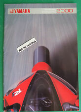 YAMAHA MOTO 2000 R1 V MAX FAZER TDM WILD DRAG STAR TT600  DEPLIANT CATALOGO
