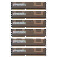 24GB Kit 6x 4GB HP Proliant ML370 SL160S SL170S DL180 DL170H G6 Memory Ram