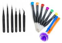 Screwdriver and Tweezers Set for Repairing Mobile Phones, Tablets, Electronics