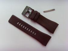 DIESEL Original Ersatzband Lederarmband DZ1553 Uhrband braun watch strap 30 mm