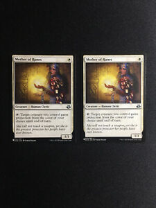 2x Mother Of Runes MYS Mystery Booster EDH NM Magic The Gathering Mtg