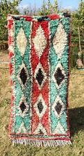 "Vintage  Moroccan Handmade Talsint Rug Berber Rug / Berber Carpets 5'4""x 2'5"""