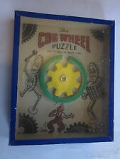 vintage The Cog Wheel Puzzle RJ Series Popular Puzzles Journet London England