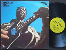 BOOGALOO JOE JONES What It Is LP PRESTIGE PRST 10035 US 1971 JAZZ Bernard Purdie
