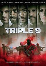 Triple 9 (DVD, 2016) USED VERY GOOD