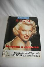 NOTICIAS 1992 - MARLYN MONROE  cover & article RARE - MAGAZINE CINEMA COLECTION