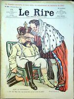 Le RIRE N°399 du 28 Juin 1902 (avec supplément) dignité du peuple anglais