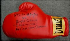 Art One Glove Jimmerson Signed Everlast Boxing Glove VS Royce Gracie UFC PSA/DNA