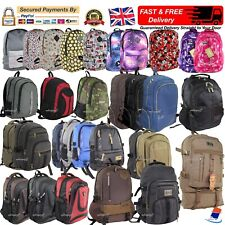 Mens Boys Girls Backpack Rucksack School College Travel Sports Work Laptop Bag