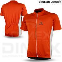 Mens Cycling Jersey Short / Half Sleeve Biking Top Outdoors Sports Shirt S to XL