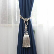 2PCS Decorative Curtain Tassel Tieback Curtain Holder Tiebacks Accessory Tassel