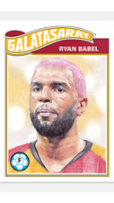 TOPPS UCL SOCCER LIVING SET CARD GALATASARAY RYAN BABEL #65 ONLY 194 MADE