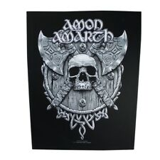 XLG Amon Amarth Viking Warrior Large Patch Melodic Metal Band Sew On Applique