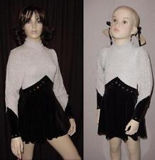 Diva Dance Tap Costume Rhinestone Zipper /& Gloves Clearance Adult Large /& Medium