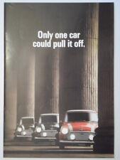 MINI COOPER orig 1990 UK Mkt Sales Brochure - 4198