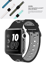 Apple Watch Band 42mm with Case iWatch Sport Soft Strap Series 3 2 1 Nike +, New