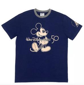 New Walt Disney World Mickey Mouse 50th anniversary T Shirt.