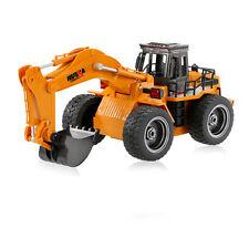 Camión Excavadora Rc 6CH 2.4Ghz con LEDs | Ideal para Niños
