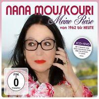 NANA MOUSKOURI - MEINE REISE-VON 1962 BIS HEUTE (DELUXE VERSION) 2 CD + DVD NEU