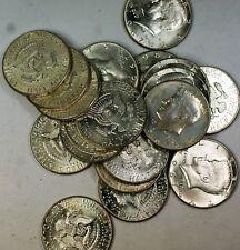 1967 Kennedy Half Dollar 50 Cents Roll 40% Silver 20 BU Coins