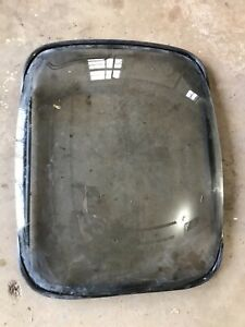 Vintage Side Glass conversion van G Ford Chevy Econo G20 window rear side door