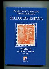 2016.CATALOGO ESPECIALIZADO SELLOS DE ESPAÑA.NUEVO.TOMO III.PVP 80 €