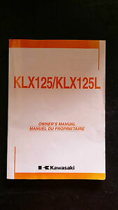 Kawasaki KLX125 KLX125L KLZ 125 L 2004